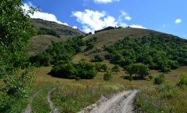 Rezerwata przyrody teberda Karachayevo-Cherkessia, Rosja Zdjęcia Royalty Free