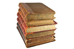 rezerwuje edukaci literaturę Obraz Stock
