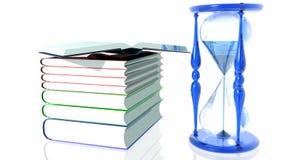 rezerwuje hourglass Obraz Stock