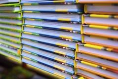 rezerwuje kolorowego Fotografia Stock