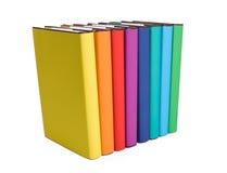 rezerwuje kolorowego zdjęcie stock