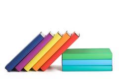 rezerwuje kolorowego obrazy stock