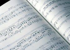 rezerwuje muzykę Zdjęcie Stock