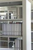 rezerwuje półka na książki zarządzanie Zdjęcie Royalty Free