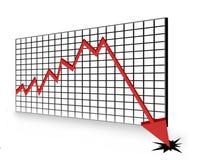 Rezession Lizenzfreie Stockfotografie
