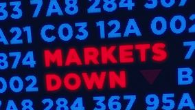 Rezessions- und Krisenkonzept vektor abbildung