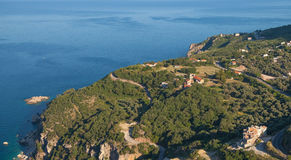 Rezevici village landscape, Montenegro Royalty Free Stock Photos
