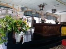 Rezo budista Hall Stage PBA Anson Road Penang imágenes de archivo libres de regalías