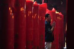 Rezo chino del Año Nuevo Imagenes de archivo