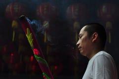 Rezo chino del Año Nuevo Foto de archivo