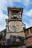Rezo Gabriadze Clock Tower Arkivfoton
