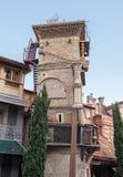 Rezo Gabriadze Clock Tower Royaltyfri Foto