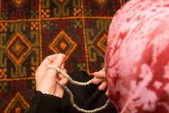 Rezo islámico Fotos de archivo libres de regalías
