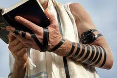 Rezo judío Foto de archivo libre de regalías