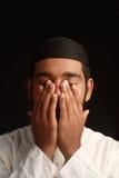 Rezo musulmán Imagenes de archivo