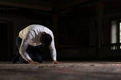 Rezo musulmán humilde Fotografía de archivo