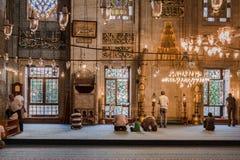 Rezos azules Estambul Turquía de la mezquita Fotografía de archivo