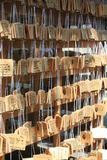 Rezos budistas Imágenes de archivo libres de regalías