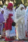 Rezos de Eid al Adha Fotografía de archivo