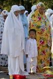 Rezos de Eid al Adha Fotos de archivo libres de regalías
