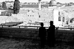 Rezos en Jerusalén Fotografía de archivo libre de regalías