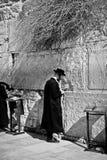 Rezos en Jerusalén Imagen de archivo libre de regalías