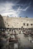 Rezos en la pared que se lamenta Imagen de archivo