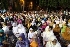 Rezos musulmanes Foto de archivo