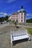 Rezydenci ziemskiej hause Becov nad Teplou Obraz Royalty Free