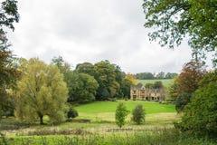 Rezydencj ziemskich ziemie przy Górną rzezią i dom zdjęcia royalty free