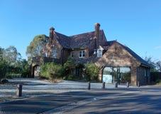 Rezydencja ziemska dom przy Templestowe Vic Australia zdjęcia stock