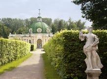 Rezydencja ziemska Kuskovo moscow Zdjęcie Royalty Free