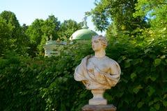 Rezydencja ziemska Kuskovo, Moskwa, Rosja Parkowy Kuskovo - nieruchomość Hrabiowski Sheremetev Architektoniczny i artystyczny zes Zdjęcie Stock