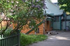 Rezydencja ziemska Leo Tolstoy w sercu Moskwa Obrazy Stock