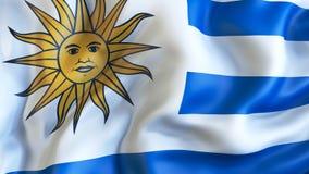 Rezygnować flaga Urugwaj, dyplomacja royalty ilustracja