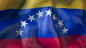 Rezygnować flaga Wenezuela, dyplomacja ilustracja wektor