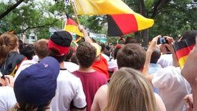 Rezygnować niemiec flaga zdjęcie wideo