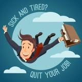 Rezygnuje twój pracę! Obraz Stock