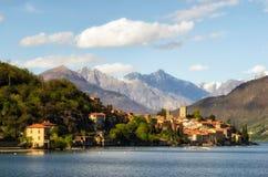 Rezzonico Lago di Como Stockfotografie