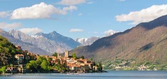 Rezzonico Lago di Como Italy Stock Photography