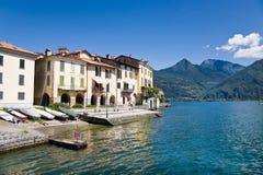 Rezzonico waterfront, Lake Como Stock Photography