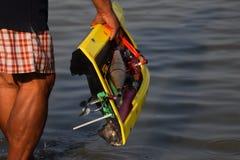 Rf prędkości łódź Obrazy Stock