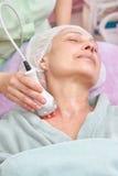 Rf skin tightening procedure. Stock Images