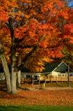 Réfectoire de camp de bible de port d'engagement, le Lac Léman, WI Images libres de droits
