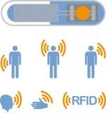 RFID Lizenzfreie Stockfotos