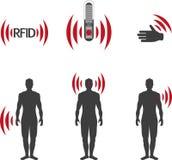 RFID Στοκ φωτογραφία με δικαίωμα ελεύθερης χρήσης
