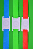 Rfid bracelets Royalty Free Stock Image