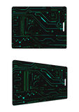 RFID card high tech Royalty Free Stock Photo