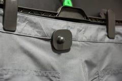 RFID ciężka etykietka dla odziewać Fotografia Stock