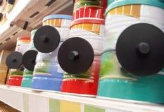 RFID ciężka etykietka - Kraść w sklepach i kradzieży system Zdjęcie Stock